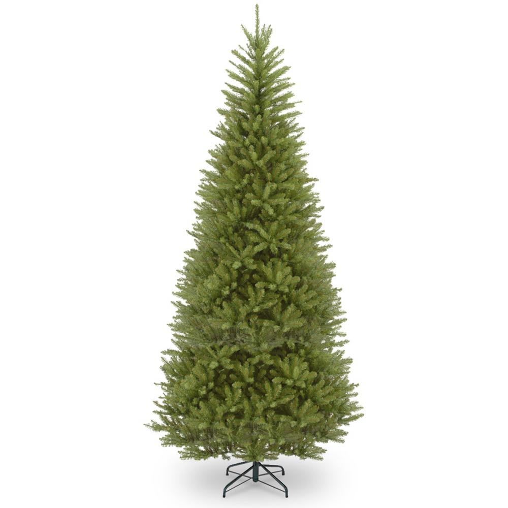 12 Ft Christmas Trees: National Tree Company 12 Ft. Dunhill Fir Slim Tree With