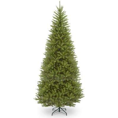 12 ft. Dunhill Fir Slim Artificial Christmas Tree with Clear Lights - 12-15 - Pre-Lit Christmas Trees - Artificial Christmas Trees - The