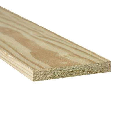 1 in. x 6 in. x 8 ft. Ground Contact Pressure-Treated Board
