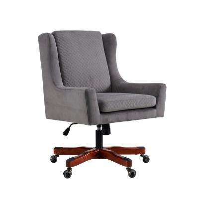 Mincy Dark Walnut Office Chair