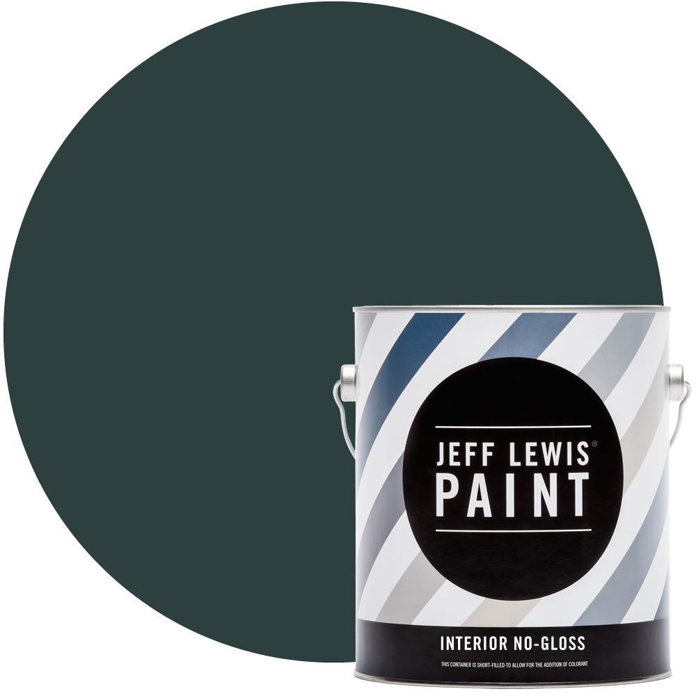Jeff Lewis 1 gal. #314 Atlantic No Gloss Interior Paint