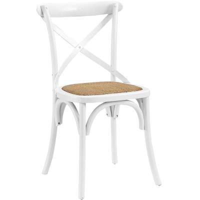 Gear White Dining Side Chair