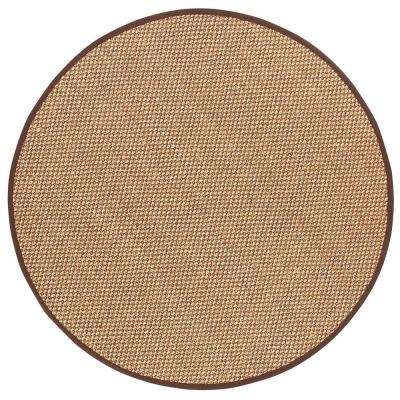 Adirondack Chocolate 8 Ft. Round Area Rug