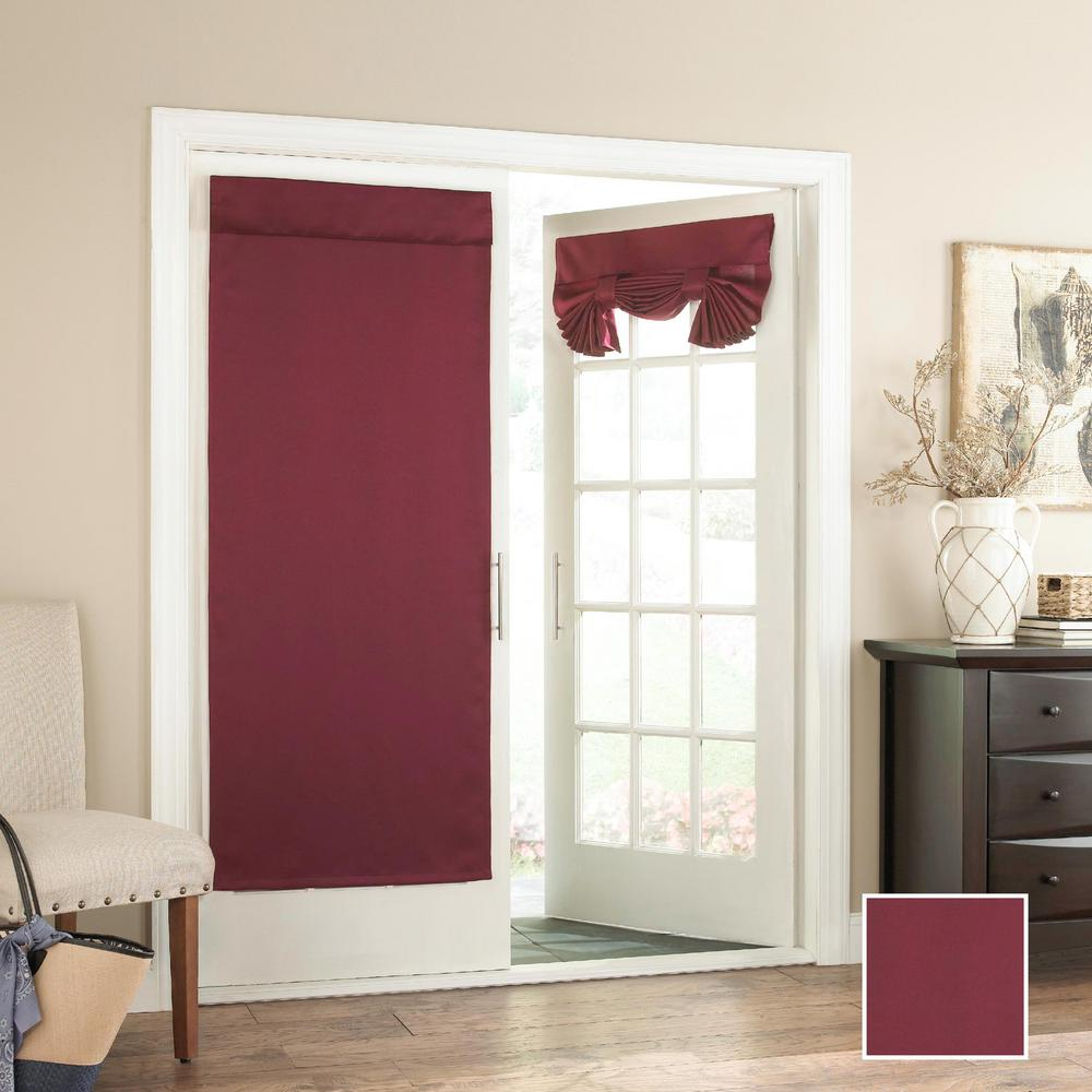 Eclipse Tricia 68 In L Polyester Rod Pocket Panel In