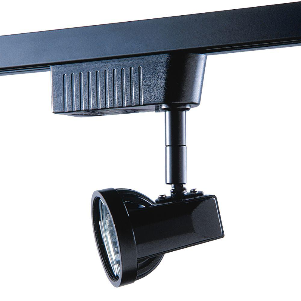 501 Series Low-Voltage MR16 Black Track Lighting Fixture
