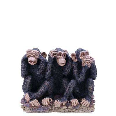 Monkeys See Hear Speak No Evil