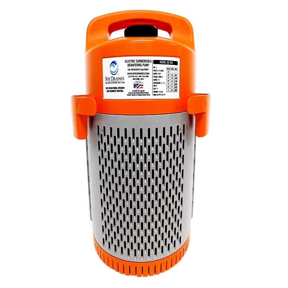 SD300 1/2 HP Electric Submersible Non-Clogging De-Watering Pump