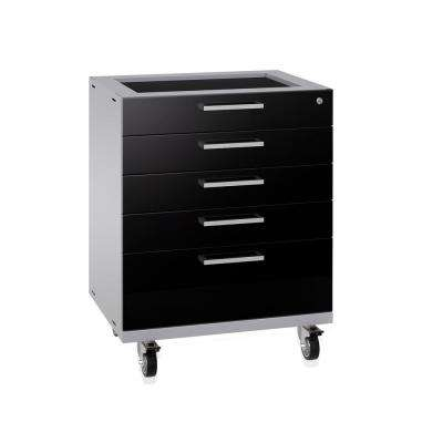 Performance Plus 2.0 28 in. W x 35.5 in. H x 22 in. D Steel Garage Tool Cabinet in Black