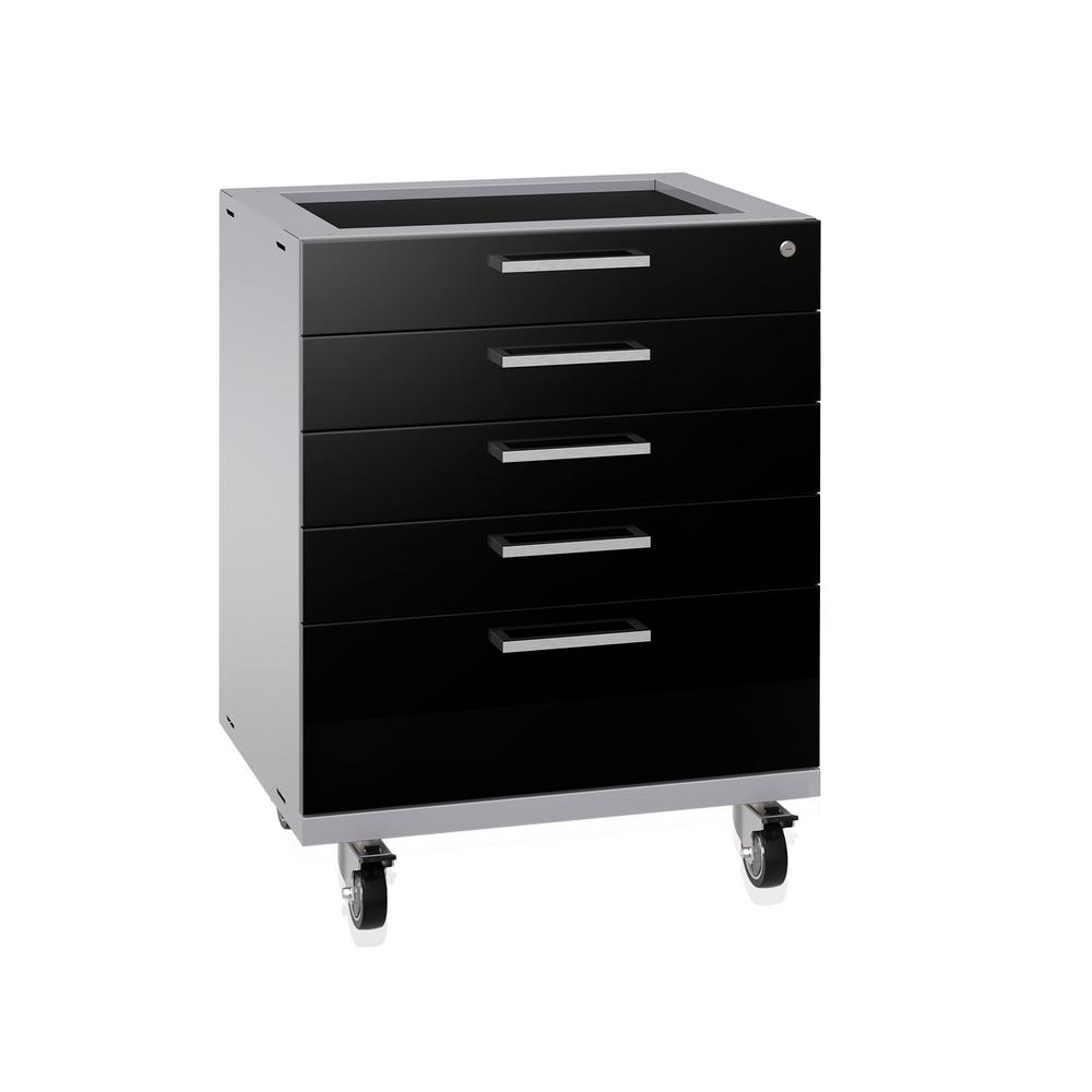 NewAge Products Performance Plus 2.0 32.25 In. H X 28 In. W X 22 In. D  Steel Garage Tool Cabinet In Black 53003   The Home Depot