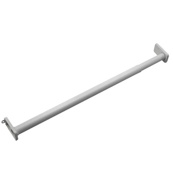 18 in. to 30 in. Adjustable Closet Rod
