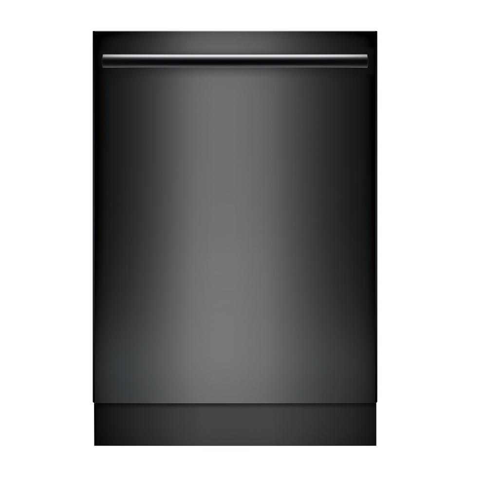 Bosch Top Control Tall Tub Bar Handle Dishwasher in Black with Stainless Steel Tub, CrystalDry, 42dBA