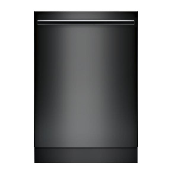 Top Control Tall Tub Bar Handle Dishwasher in Black with Stainless Steel Tub, CrystalDry, 42dBA