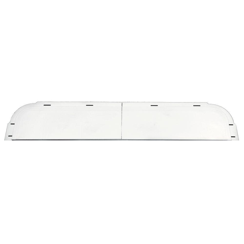 6 in. x 33-5/8 in. J-Channel Back-Plate for Window Header in