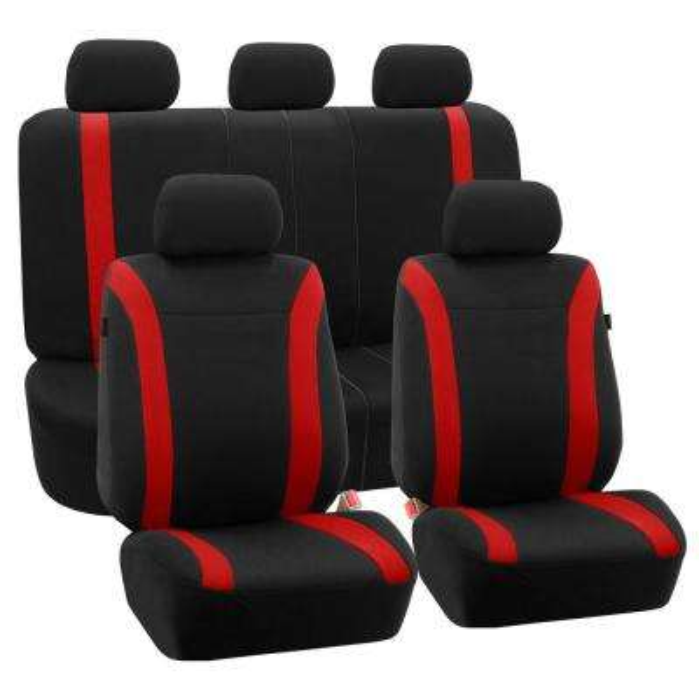 Flat Cloth 47 in. x 23 in. x 1 in. Cosmopolitan Full Set Seat Covers