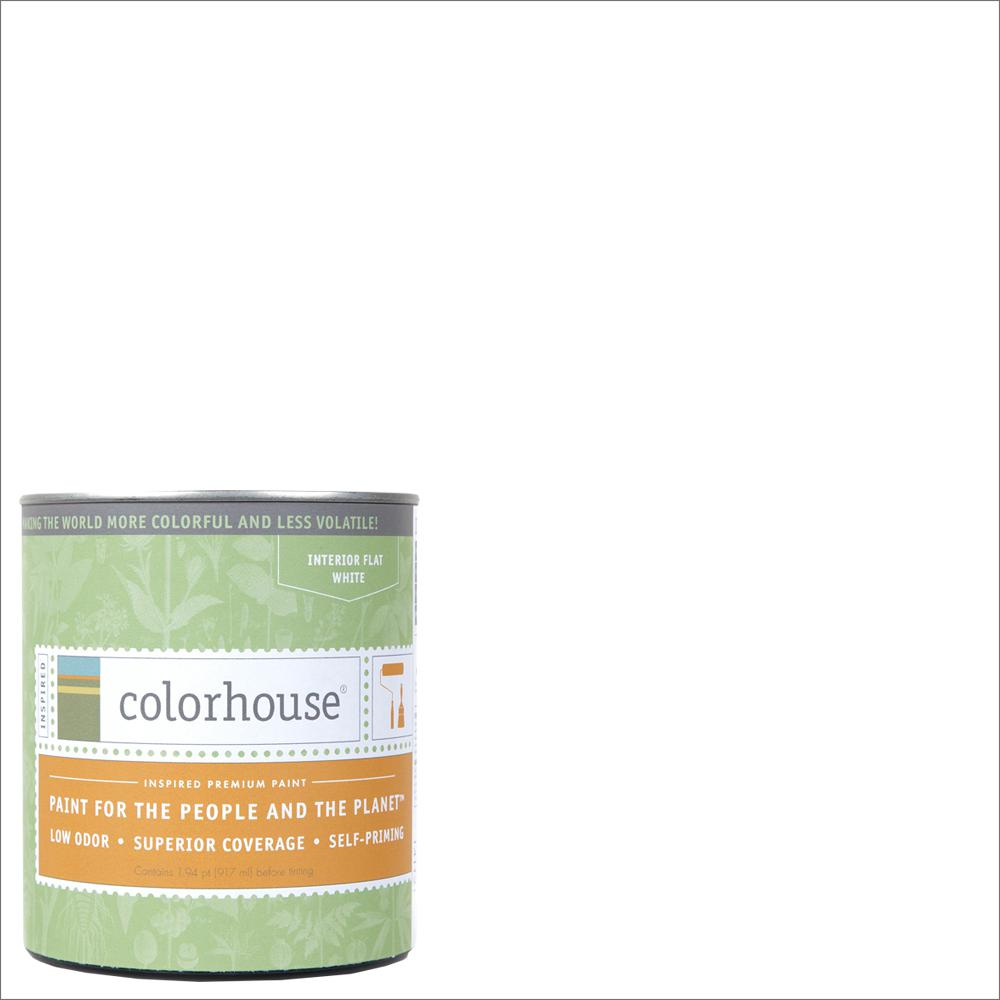 1 qt. Bisque .01 Flat Interior Paint