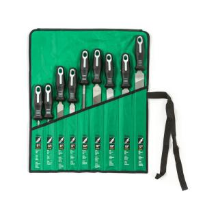 Deals on Nicholson Ergonomic Handles File Set with Pouch (9-Piece)
