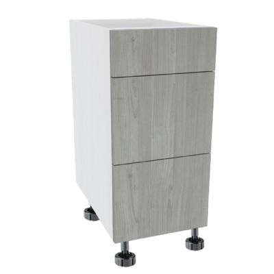 Ready to Assemble Standard 12 in. x 34-1/2 in. x21 in. Drawer Base Cabinet in Grey Nordic Wood