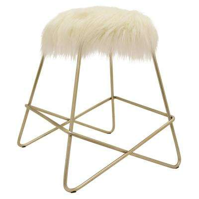 "Three Hands 18.75 "" Stool-Champagne - Champagne"