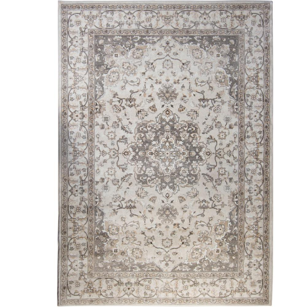 Home Dynamix Bazaar Gray 5 Ft X 7 Area Rug