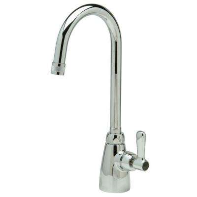 Aquaspec Single Hole Single-Handle Bathroom Faucet in Chrome