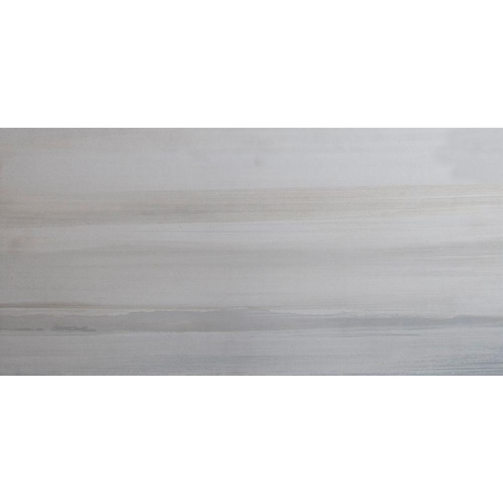 Msi Fresco Blanco 12 In X 24 Glazed Porcelain Floor And Wall Tile