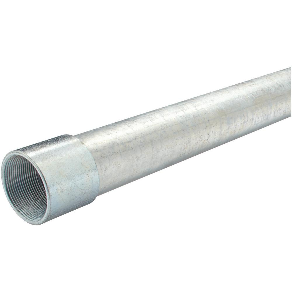 2 In X 10 Ft Rigid Metal Conduit 0544310000 The Home Depot