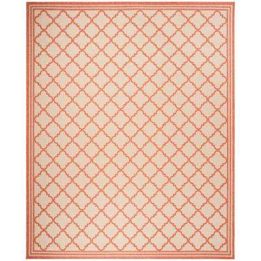 trellis orange area rugs rugs the home depot rh homedepot com