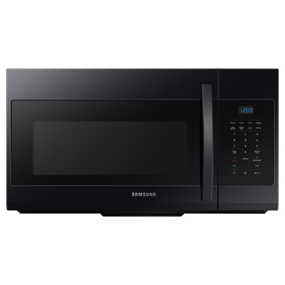 Samsung 30 in. W 1.7 cu. ft. Over the Range Microwave in Black was $289.0 now $198.0 (31.0% off)