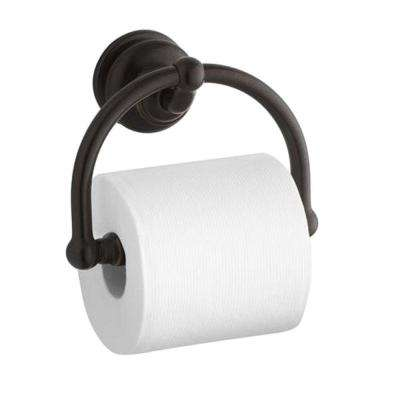 Fairfax Single Post Toilet Paper Holder in Oil-Rubbed Bronze