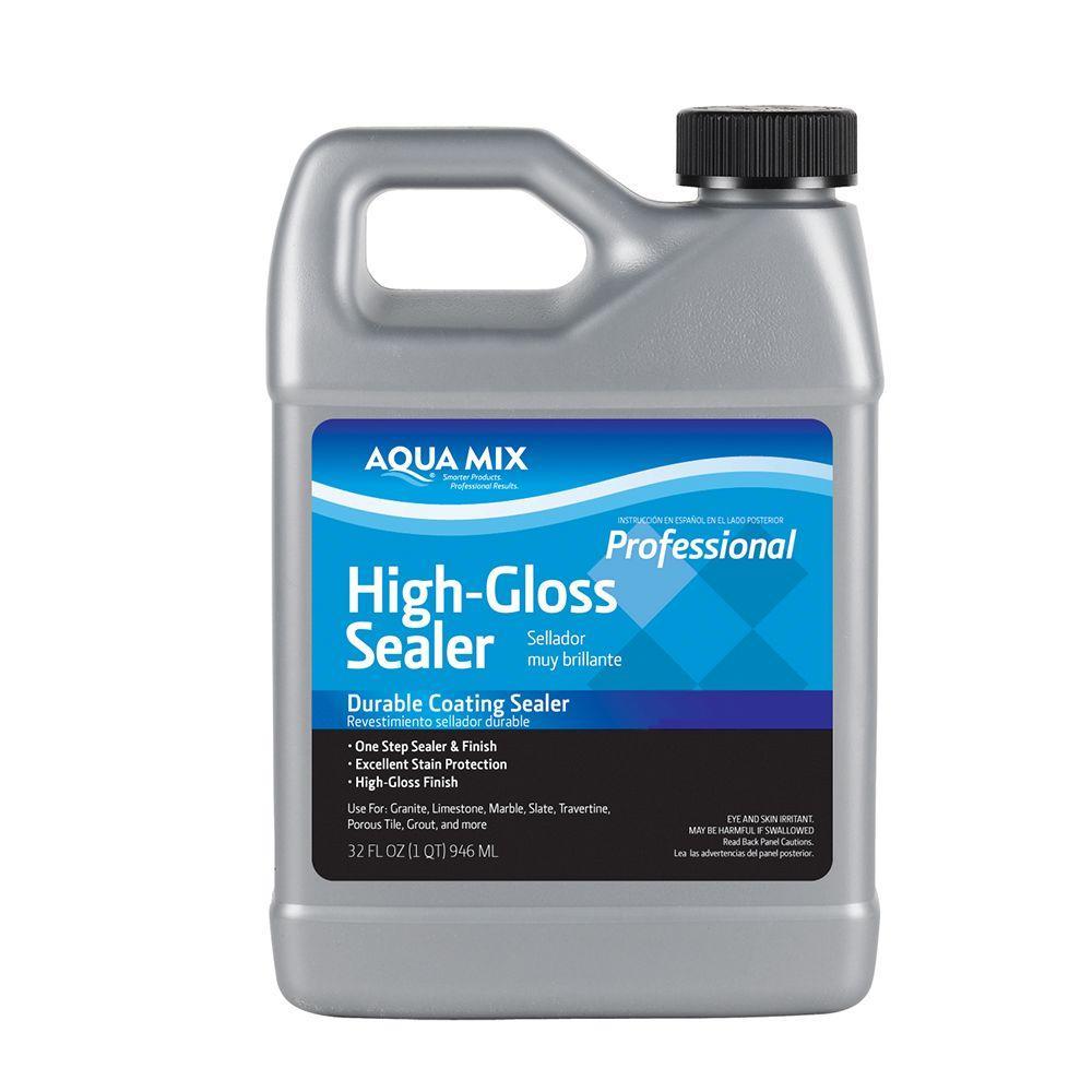 Aqua Mix 1 Qt. High-Gloss Sealer