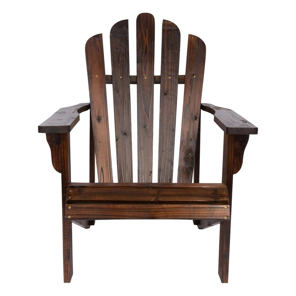 Shine Company Westport Burnt Brown Cedar Wood Adirondack Chair-4611BB - The Home Depot  sc 1 st  Home Depot & Shine Company Westport Burnt Brown Cedar Wood Adirondack Chair ...