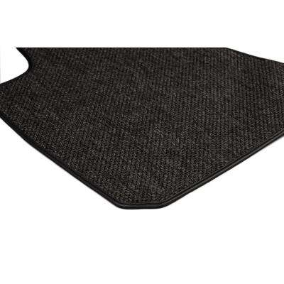 Ford Explorer Charcoal All-Weather Textile™ Carpet Car Mats, Custom Fit for 2015-2018-Driver & Passenger