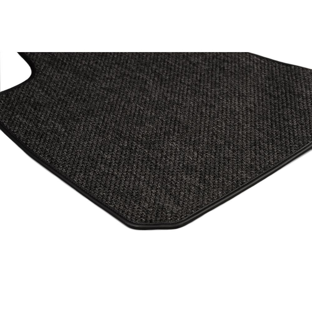 Ford Explorer Charcoal All-Weather Textile™ Carpet Car Mats, Custom Fit for 2015-2018-Driver & Passenger