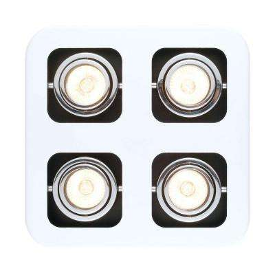 Toreno 1 4-Light White Track Lighting