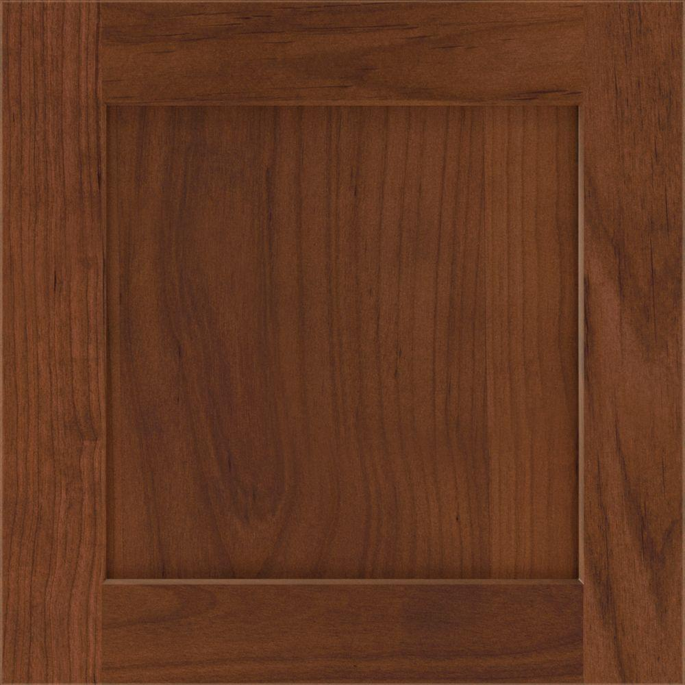 Thomasville In Cottage Cabinet Door Sample In Barrel 772515399343 The Home Depot