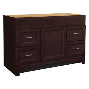 Home Decorators Collection Brinkhill 48 in. W Bath Vanity Cabinet ...