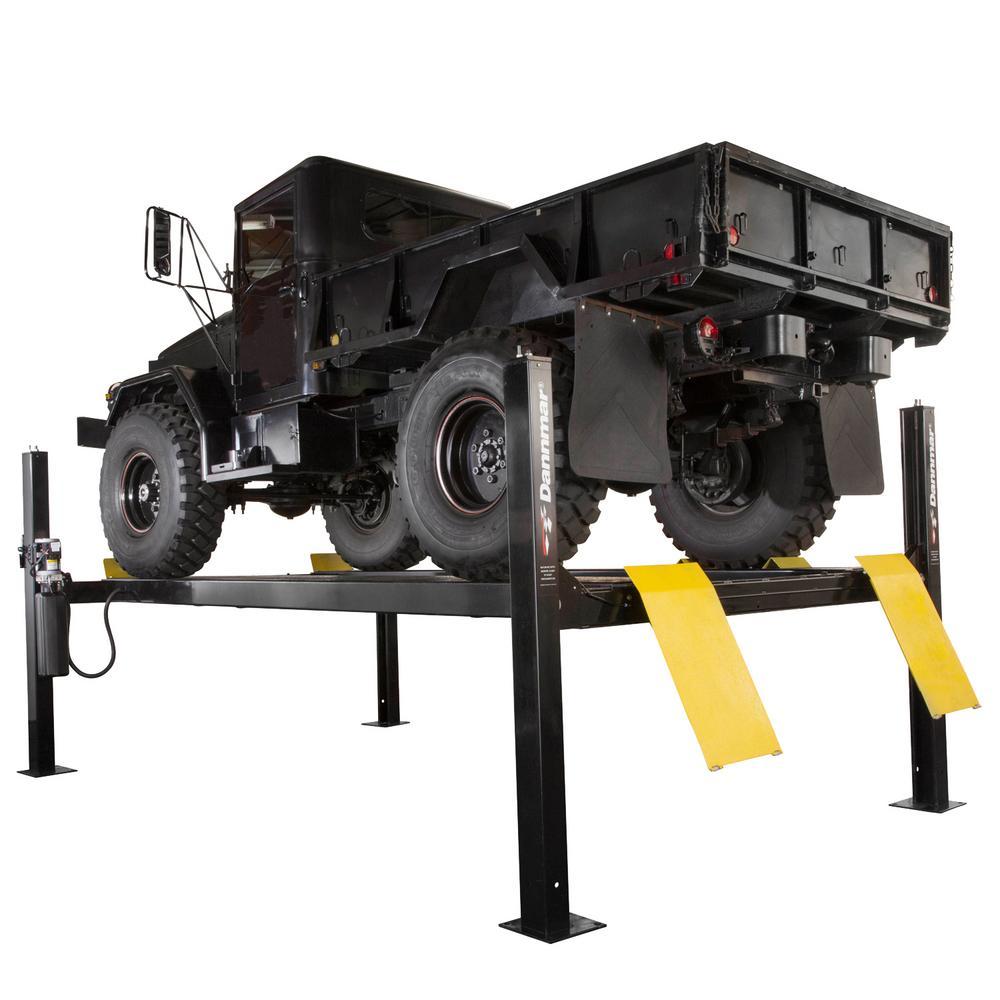 D-12 12,000 lbs. Capacity 4-Post Lift