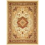 Lyndhurst Ivory/Red 10 ft. x 14 ft. Area Rug