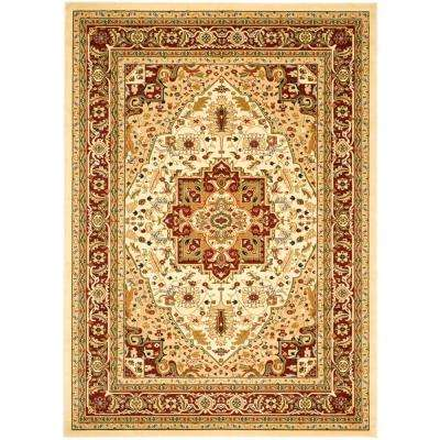 Lyndhurst Ivory Red 10 Ft X 14 Area Rug