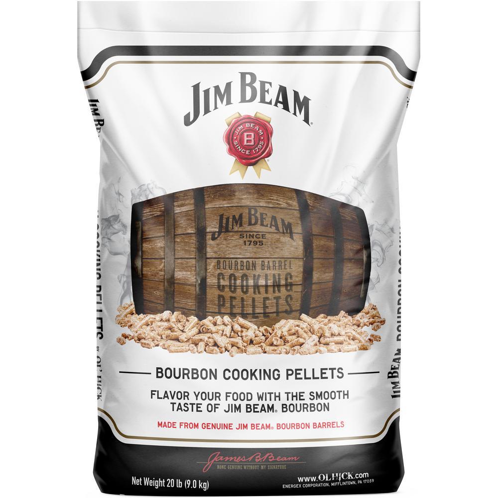 20 lb. Jim Beam Bourbon Barrel BBQ Cooking Pellet