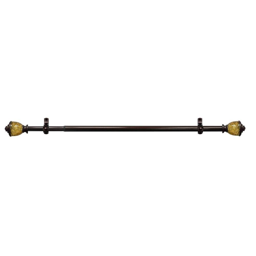 Lincroft Telescoping Curtain Rod Kit