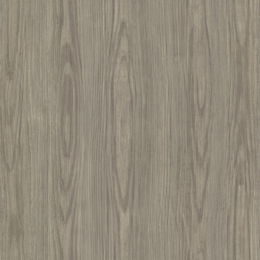 Brewster Brown Tanice Faux Wood Texture Wallpaper Sample