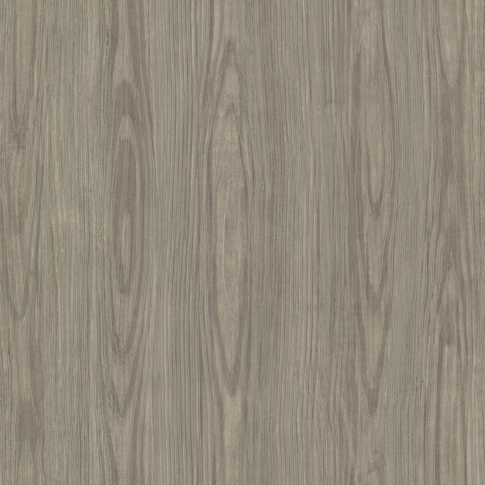 Brewster Brown Tanice Faux Wood Texture Wallpaper Sample HZN43056SAM
