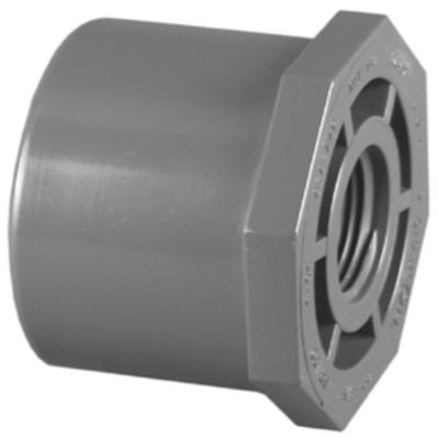 2 in. x 1/2 in. Schedule 80 Red Bushing