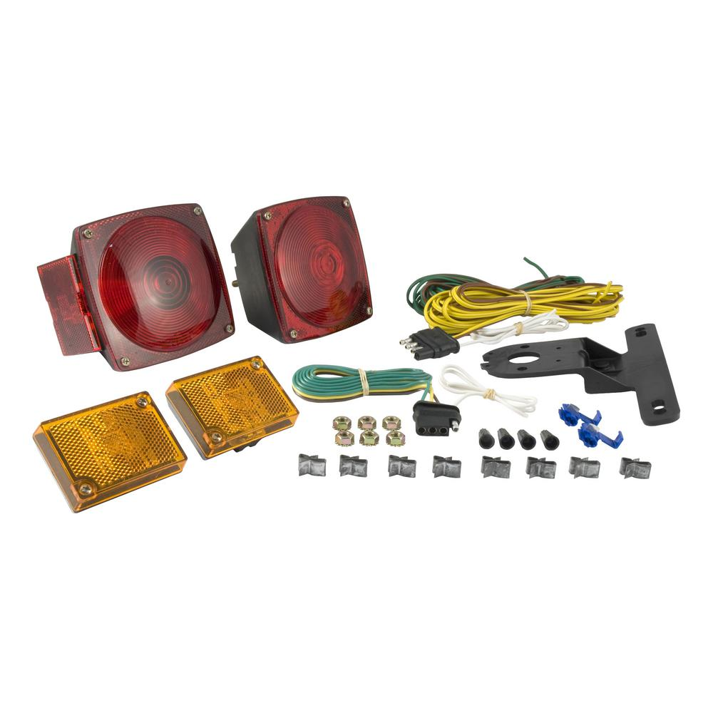 Pleasing Curt Trailer Light Kit 53540 The Home Depot Wiring Digital Resources Helishebarightsorg