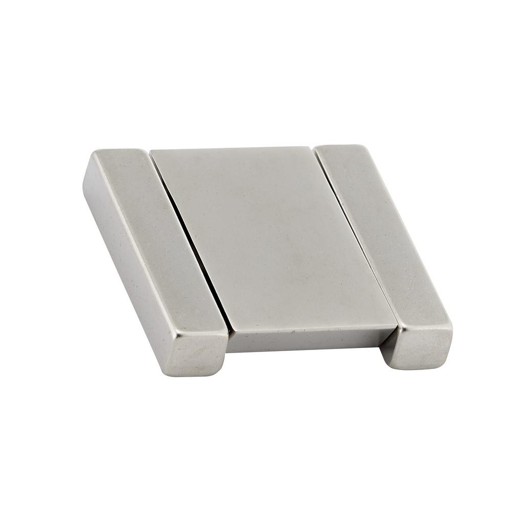 Contemporary 1-1/4 in. (32 mm) Brushed Nickel recessed pull