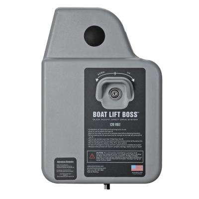 120-Volt Boat Lift Boss Direct Drive System with Wireless Remote