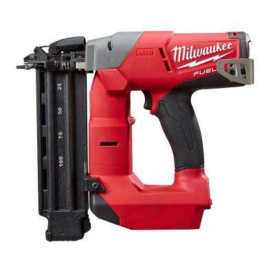 Reconditioned M18 FUEL 18-Volt Lithium-Ion Brushless Cordless 18-Gauge Brad Nailer (Tool Only)