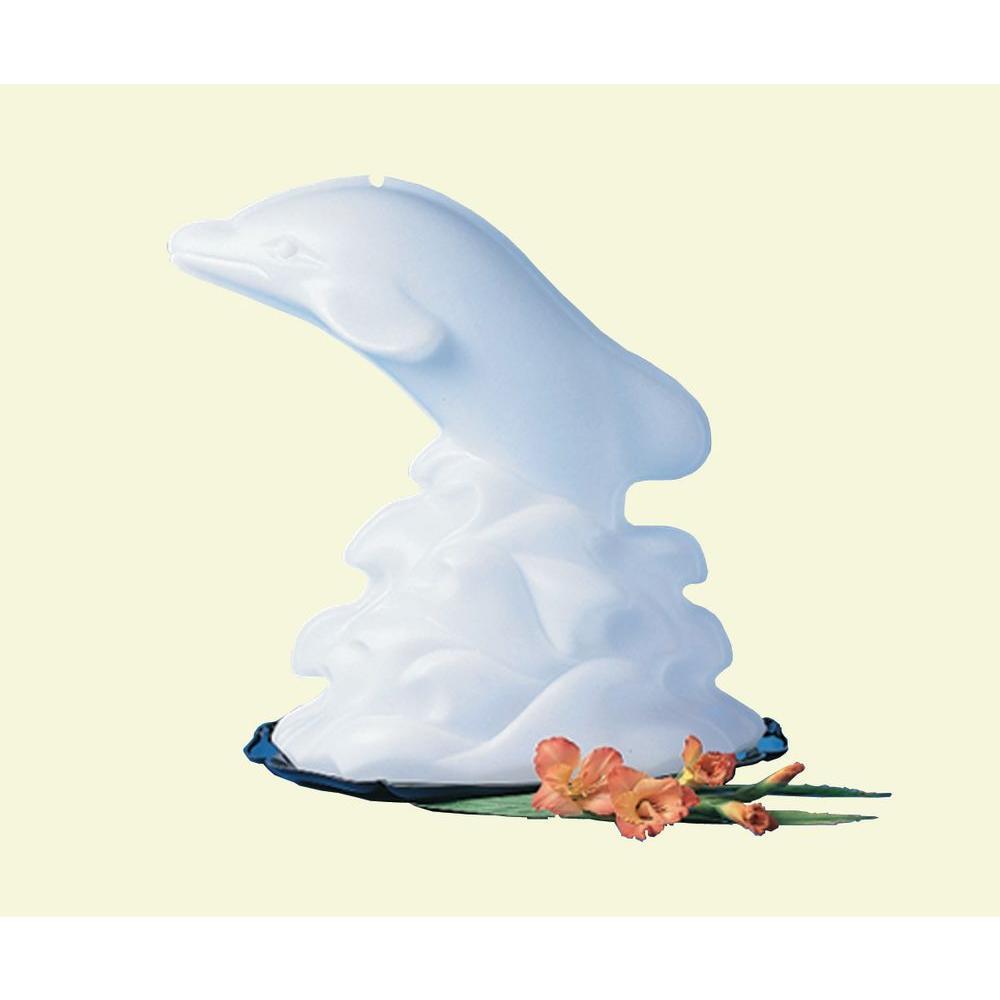 White Dolphin Ice Mold