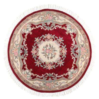 Imperial Rose 8 ft. x 8 ft. Round Area Rug